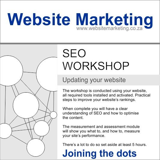 Website Marketing SEO Workshop