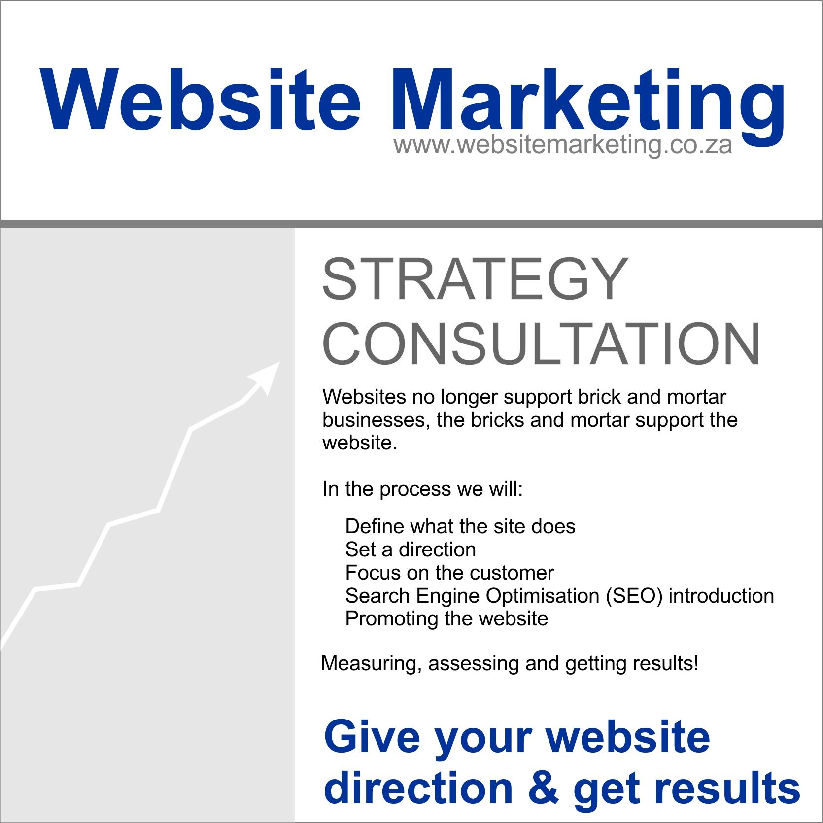 Website Marketing Strategy Consultation